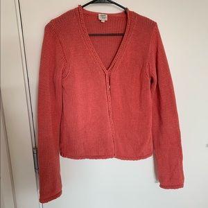 Margaret O'Leary 100% Cotton Stitch Cardigan